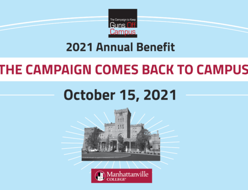 Our Annual Benefit – 10-15-21 – The Campaign Comes Back To Campus – Get Your Tickets Today